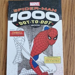 ADD-ON ONLY New 1000 Dot To Dot Spider-Man Book